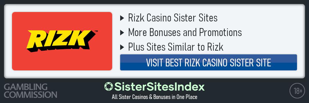 Rizk Casino sister sites