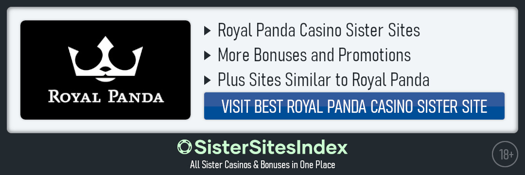 Royal Panda casino sister sites