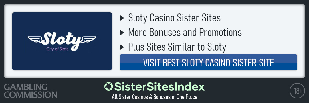 Sloty Casino sister sites