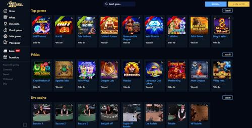 21 Dukes Games