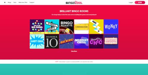 Bingo Idol Bingo Rooms