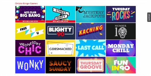 Blighty bingo Bingo Games