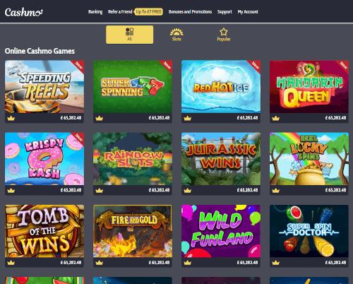 Cashmo Games