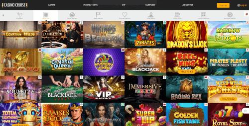 Casino Cruise Games