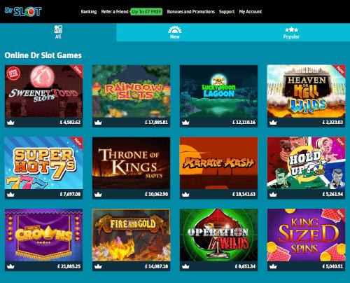 Dr Slot Games