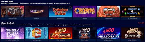 Slingo Games