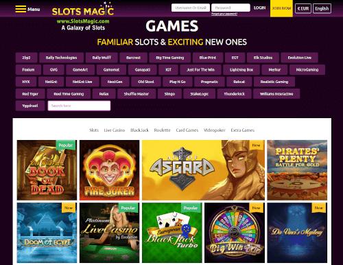 Slots Magic Games
