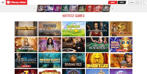 Vegas Hero Games