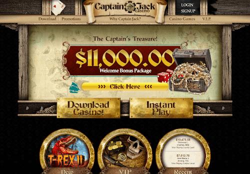 Captain Jack Homepage