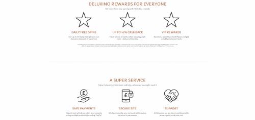 Deluxino Features