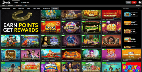 Jaak Casino Games
