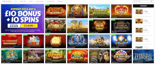 Kaiser Slots Games