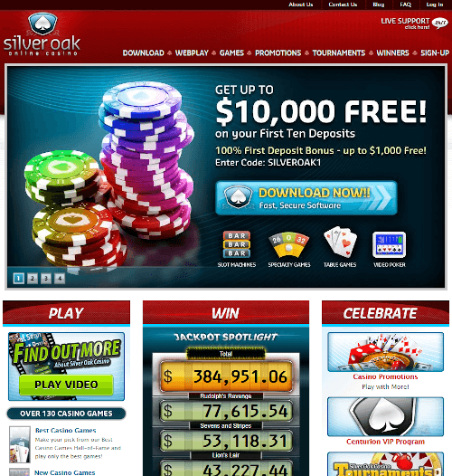 Silver Oak Homepage