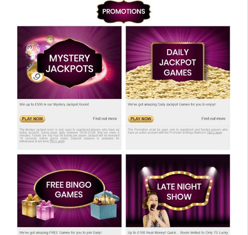 888 Bingo Promotions