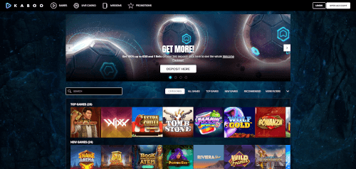 Kaboo Homepage