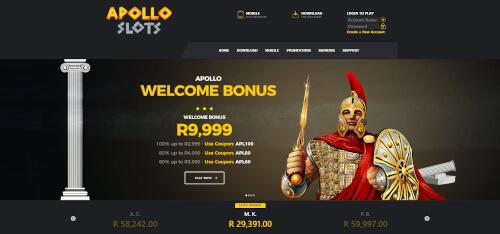 Apollo Slots Bonuses