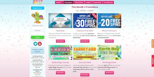 Bingo Fest Casino Promotions