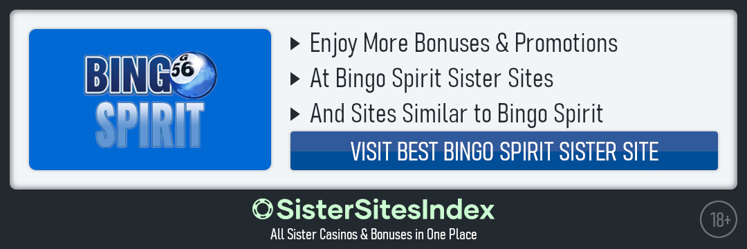 Bingo Spirit sister sites
