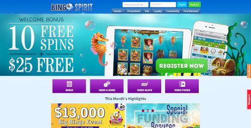 Bingo Spirits Bonuses