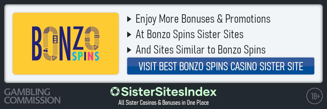 Bonzo Spins Casino sister sites