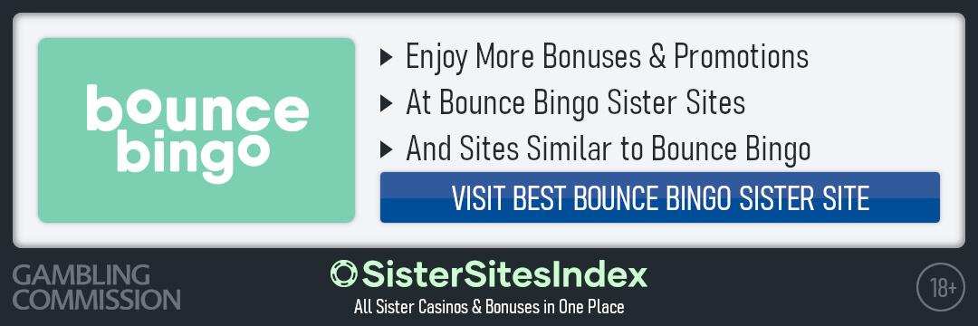 Bounce Bingo sister sites