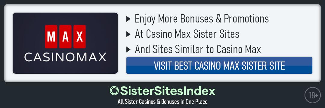 Casino Max sister sites