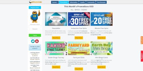Cyber Bingo Promotions