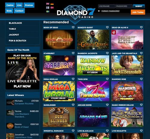 Diamond 7 Games