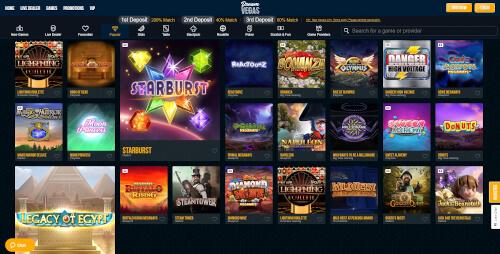 Dream Vegas Games