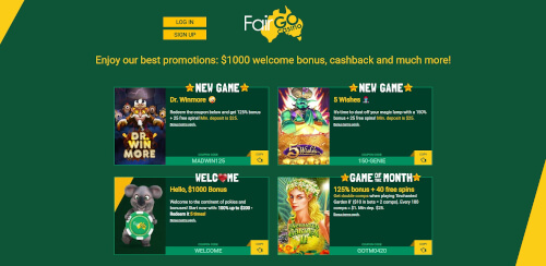 Fairgo promotions
