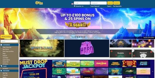 Fika casino Bonuses