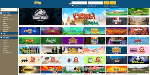 Fika casino Games