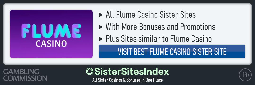 Flume Casino sister sites