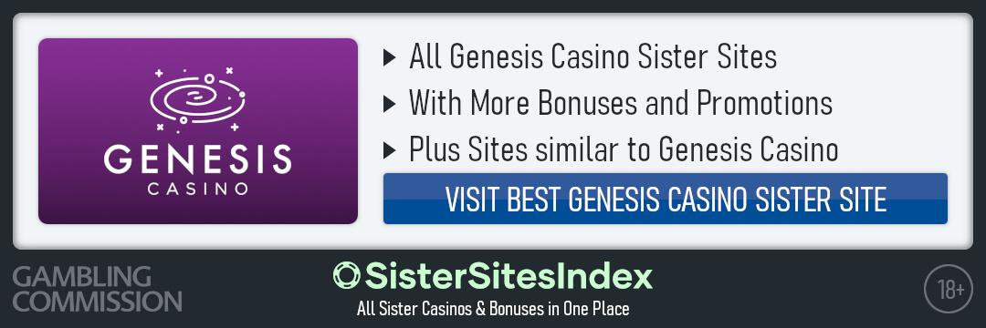 Genesis Casino sister sites