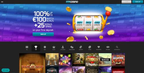 Hello casino bonuses