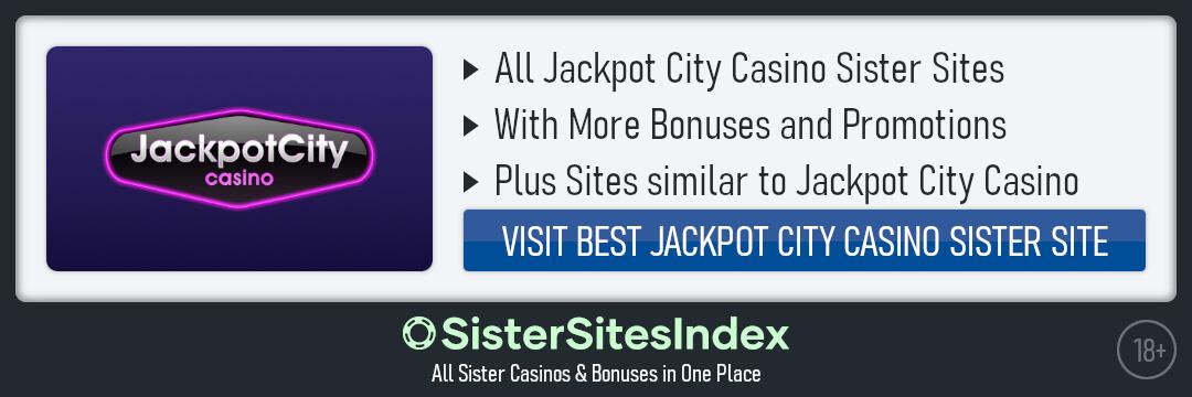 Jackpot City Casino sister sites
