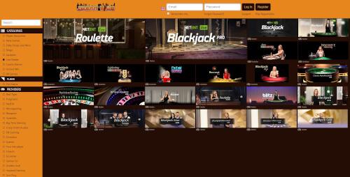 Jackpot Wilds Live Casino