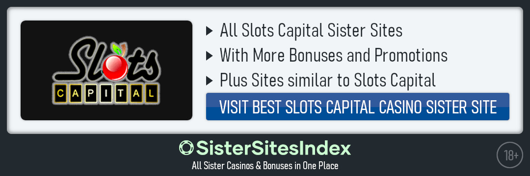 Slots Capital sister sites