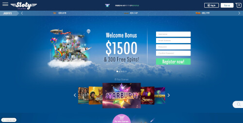 Sloty Casino Bonuses
