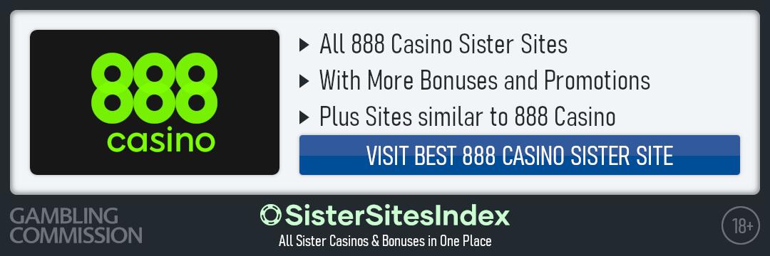 888 Casino sister sites