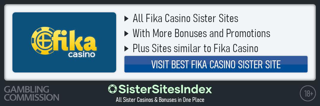 Fika Casino sister sites