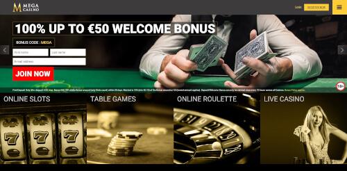 Mega Casino Bonuses