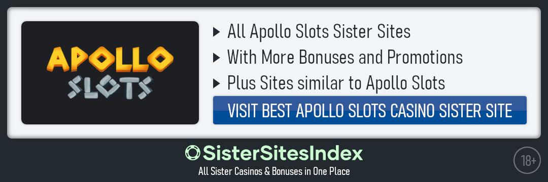 Apollo Slots sister sites