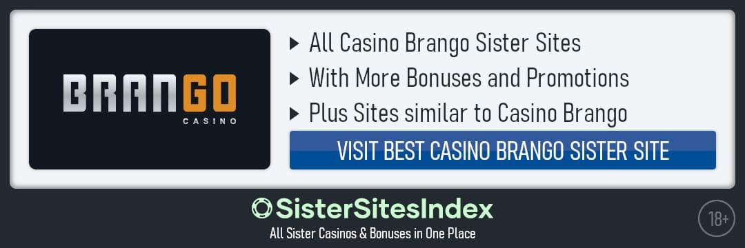 Casino Brango sister sites