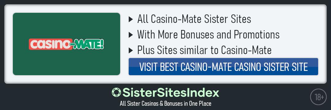 Casino-Mate sister sites