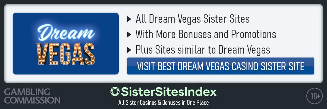 Dream Vegas sister sites