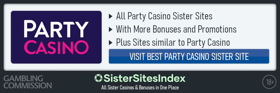 Party Casino sister sites