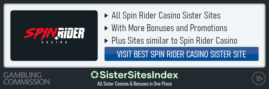 Spin Rider Casino sister sites