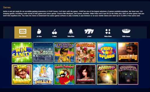 24 Vip Games
