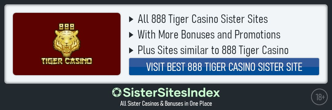 888 Tiger Casino sister sites
